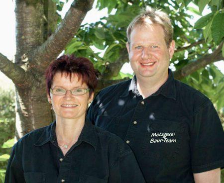 Metzgerei Baur - Ehepaar